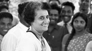 Indira Gandhi 102nd Birth Anniversary: Lesser Known Facts About The 'Iron Lady' of India