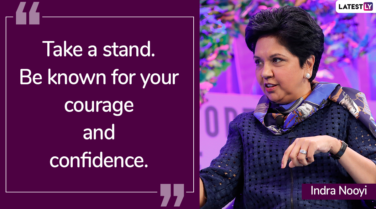 Indra Nooyi Birthday Special: Thought-Provoking Quotes By The Former PepsiCo CEO on Life, Career And Success!