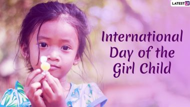 International Day of the Girl Child 2020 Date, Theme and History: Know Significance of the Observance That Highlights Empowering Girls