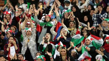 Iran Women Enter Football Stadium After 40 Years as Rouhani Regime Lifts Ban, Witness Historic 14-0 Win Against Cambodia in FIFA World Cup Qualifier