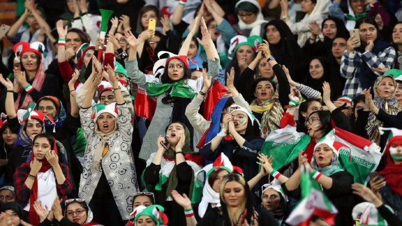 Image result for WOMEN'S FOOTBALL  FIFA PRESIDENT INFANTINO HAILS IRAN FOR LIFTING BAN