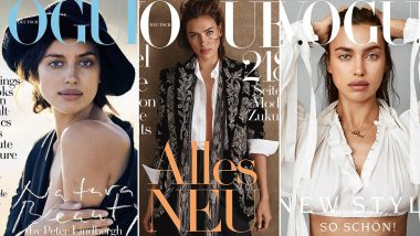 Throwback! Irina Shayk's Sublime Looks On The Lofty Cover Of Vogue Germany Deserves Your Attention - View Pics