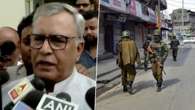 Article 370 Abrogation: Narendra Modi Govt to Release Kashmiri Leaders 'One By One', Says Advisor to J&K Governor