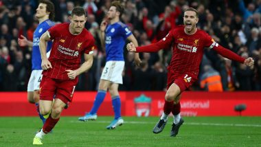 Premier League 2019-20 Match Report: James Milner Sends Liverpool Eight Points Clear, Tottenham Hotspur Stunned By Brighton