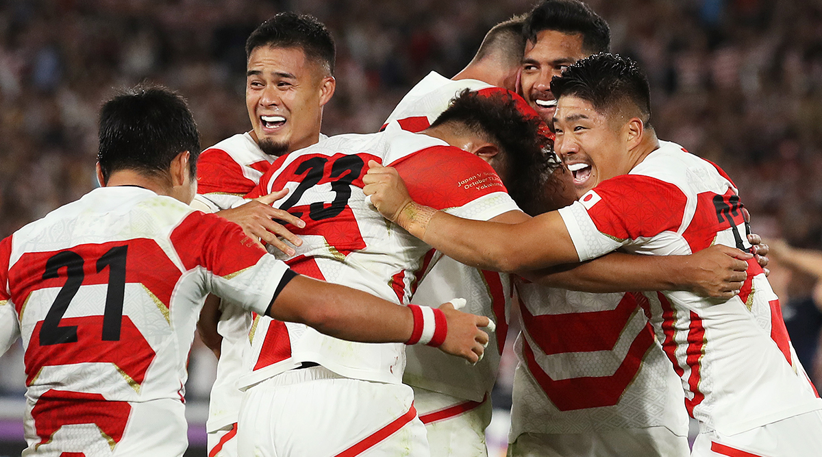 Japan vs Scotland Rugby World Cup 2019:Twitter Lauds Home Team Victory, As They Become 1st Asian Team To Enter Quarter-Final