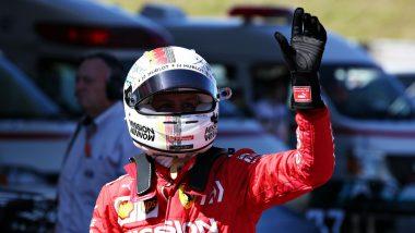 Japanese Grand Prix 2019: Sebastian Vettel Take Pole Amidst Ferrari Front-Row Lockout in Typhoon-Affected Japan