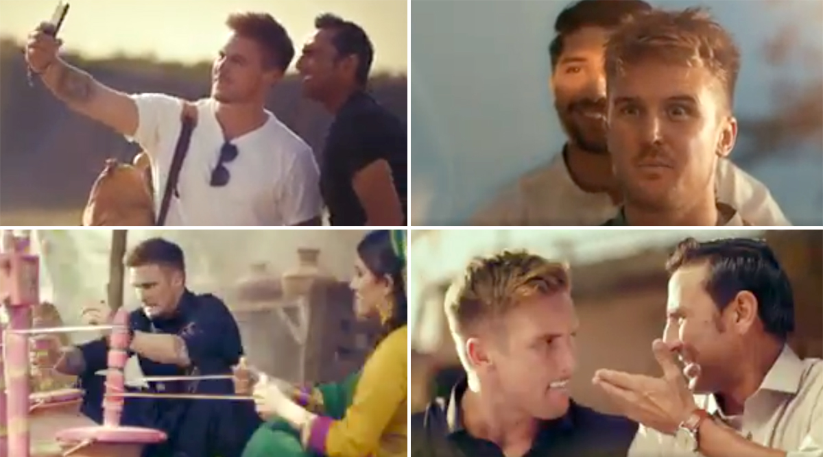Jason Roy Seen Exploring Pakistan With Younis Khan in Commercial Advertisement for Zong Network (Watch Video)