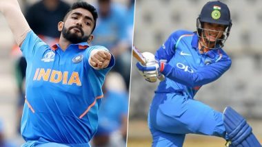 Jasprit Bumrah, Smriti Mandhana Win Wisden India Almanack 'Cricketer of the Year' Award