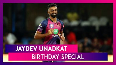 Jaydev Unadkat Birthday Special: Interesting Facts about IPL 2018's Most Expensive Indian Cricketer