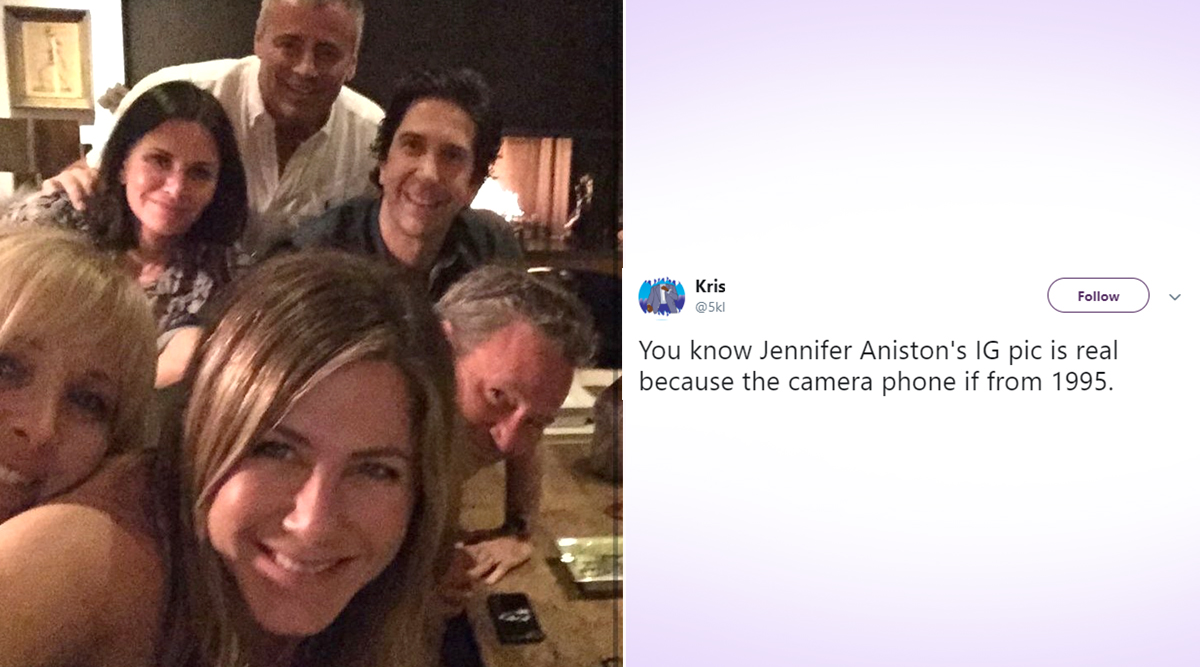 Jennifer Aniston Needs a Better Camera Phone! Fans Take a Dig At Actress' Maiden Instagram Post With Friends Reunion Selfie