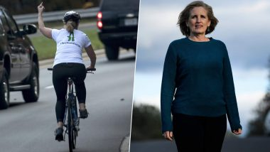 US Elections 2019 Results: Cyclist Juli Briskman Who Flipped Off Donald Trump's Presidential Convoy Wins Local Election in Virginia