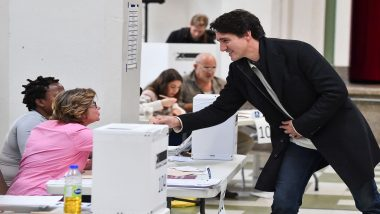 Canada Elections 2019: Voting Underway For High-Stake Polls, Justin Trudeau May Lose Single-Party Majority, Predict Opinion Polls