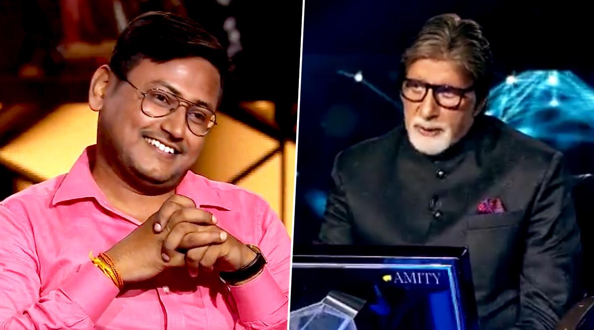 Kaun Banega Crorepati 11: After Sanoj Raj, Gautam Kumar Jha From Bihar Wins Rs 1 Crore Becoming Season's Second Crorepati! (Watch Video)
