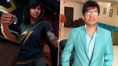 Kamaal R Khan Threatens to Take Marvel to Court for Calling Their Character Kamala Khan and Not Taking His Permission for It, Twitterati Ask Him to Use Spell Check
