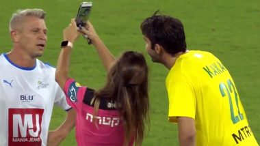 Female Referee Books Kaka Before Taking a Selfie With The Brazilian Footballer During a Friendly Match (Watch Video)