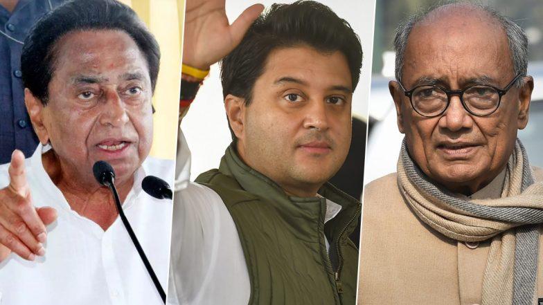 Kamal Nath Responds to Jyotiraditya Scindia, Digvijaya Singh as Congress Infighting Escalates in Madhya Pradesh