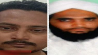 Kamlesh Tiwari Murder Case: UP Police Releases Photos of Two Suspects in Hindu Mahasabha Leader's Murder