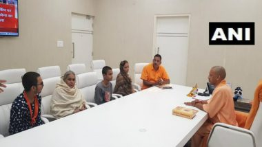 Uttar Pradesh: Kamlesh Tiwari's Family Meets Yogi Adityanath at His Residence