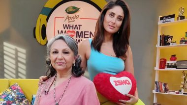 Kareena Kapoor Khan Invites Mother-in-Law Sharmila Tagore for an Episode of 'What Women Want' Season 2 - View Pic
