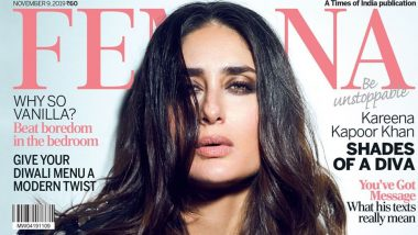 Kareena Kapoor Khan Glows Bright With Confidence On The Magazine Cover of Femina India Diwali 2019 Issue (View Pic)
