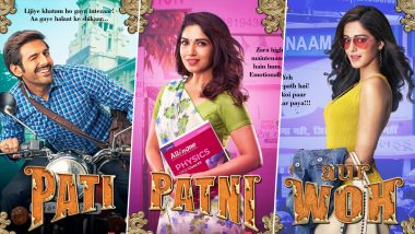 Pati, Patni Aur Woh Posters: Meet Kartik Aaryan's Chintu Tyagi, His High Maintenance Wife Bhumi Pednekar and 'Agneepath' Ananya Panday!
