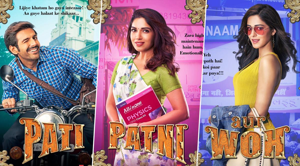 Pati, Patni Aur Woh Posters: Meet Kartik Aaryan's Chintu ...
