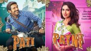 Pati, Patni Aur Woh Posters: Meet Cheeky Kartik Aaryan as Chintu Tyagi and His High Maintenance Wife Bhumi Pednekar!