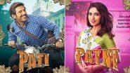 Pati, Patni Aur Woh Posters: Meet Cheeky Kartik Aaryan as Chintu Tyagi and His High Maintenance Wife Bhumi Pednekar!