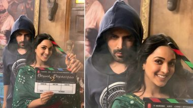 Bhool Bhulaiyaa 2: Kartik Aaryan and Kiara Advani Begin Shooting for The Horror Comedy (View Post)