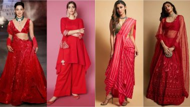 Karva Chauth 2019 Fashion Tips: 8 Red And Ethnic Style Inspirations From Kiara Advani, Athiya Shetty, Sonam Kapoor, Priyanka Chopra