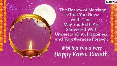 Happy Karva Chauth 2019 Wishes For Daughter-In-Law: WhatsApp Messages, Images, Greetings, Facebook Photos & SMS to Send to Your Bahu For Karwa Chauth Vrat