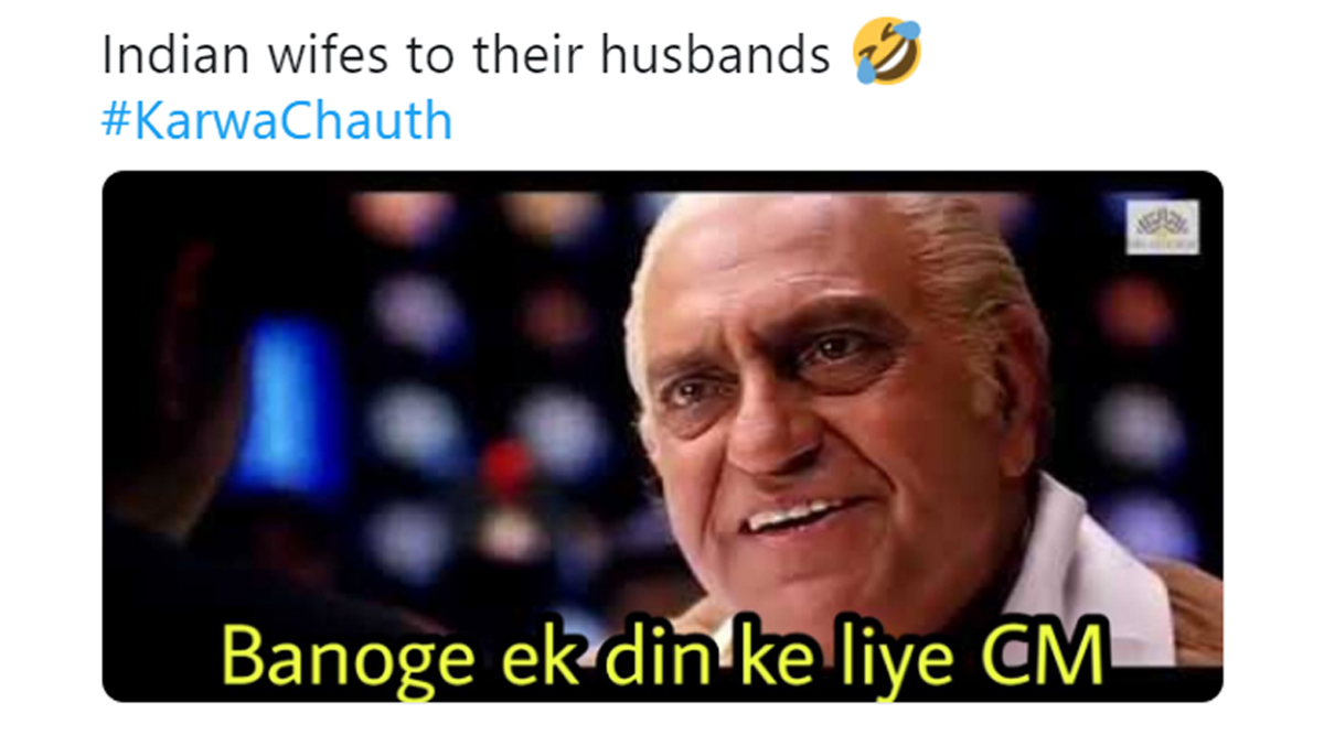 Karwa Chauth Memes Trend Online as Netizens Find Humour in Festive Celebrations (Check Funny Tweets)