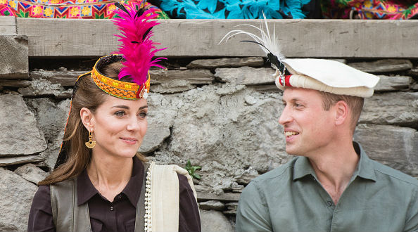Prince William And Kate Middleton Don Traditional Chitrali Attire on Day 3 of Pakistan Tour