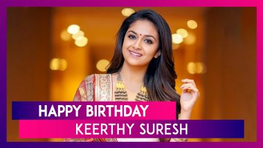 Keerthy Suresh Birthday: 5 Best Movies of National Award Winning Actress That You Should Not Miss