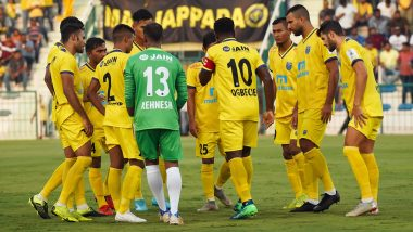 Kerala Blasters FC vs Jamshedpur FC, ISL 2019–20 Live Streaming on Hotstar: Check Live Football Score, Watch Free Telecast of KBFC vs JFC in Indian Super League 6 on TV and Online