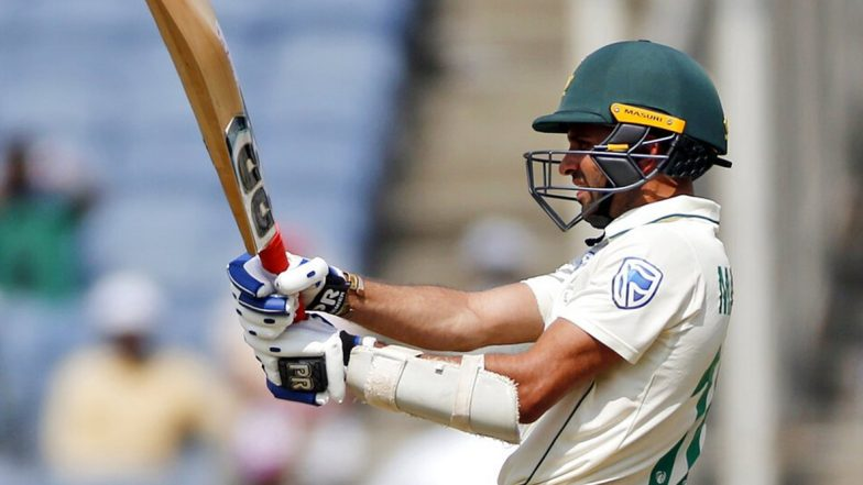 Keshav Maharaj Registers Maiden Test Fifty During India vs South Africa 2nd Test 2019