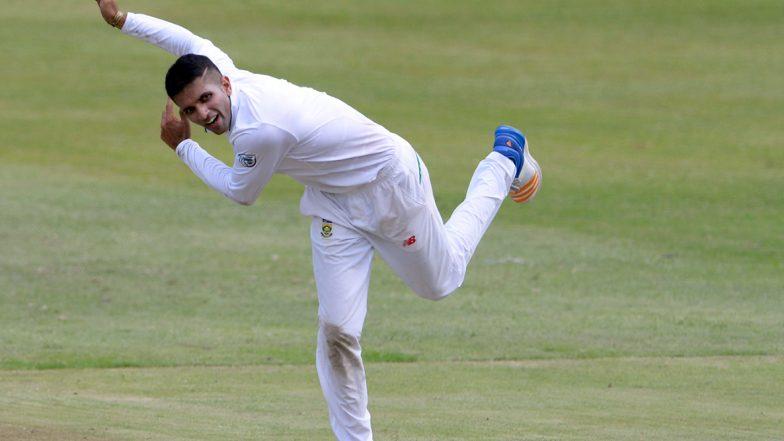 South Africa vs England, 3rd Test 2019–20: Keshav Maharaj Hits 28 Runs to Joe Root in An Over