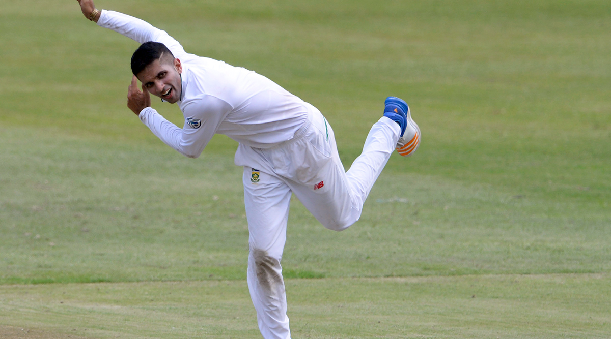 Keshav Maharaj Gets His 100th Wicket Dismissing Ajinkya Rahane During IND vs SA, 2nd Test 2019 Day 2