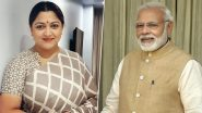 Khushbu to PM Narendra Modi on Change Within Meet: 'Why This Inequality? Best Talent Comes from South Film Industry!'