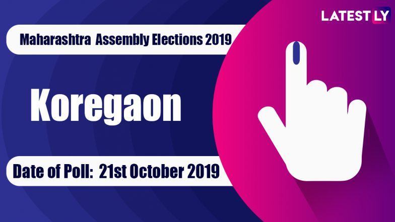Koregaon Vidhan Sabha Constituency in Maharashtra: Sitting MLA, Candidates for Assembly Elections 2019, Results and Winners