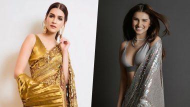 Fashion Faceoff! Kriti Sanon vs Tara Sutaria, Who Looks Sizzling Hot in Manish Malhotra's Nine-Yard?
