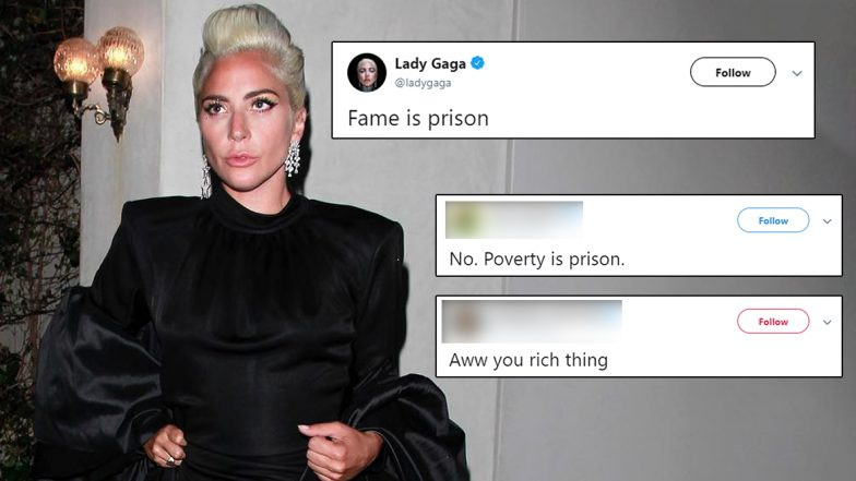 Lady Gaga's Tweet 'Fame Is Prison' Sparks Funny Memes! Hilarious Tweets and Jokes Go Viral