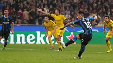 Lautaro Martinez Scores As Inter Milan Dump Borussia Dortmund in Champions League 2019–20