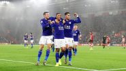 Leicester City vs Napoli, UEFA Europa League 2021-22 Live Streaming Online: Get Free Live Telecast of UEL Football Match in IST