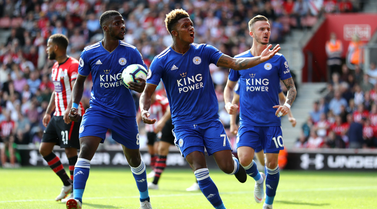 Leicester City Demolish 10 Man Southampton 9 0 For Record Premier League Away Win Latestly