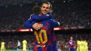 Antoine Griezmann's Goal Against Napoli Ends Disastrous Barcelona Record in UEFA Champions League