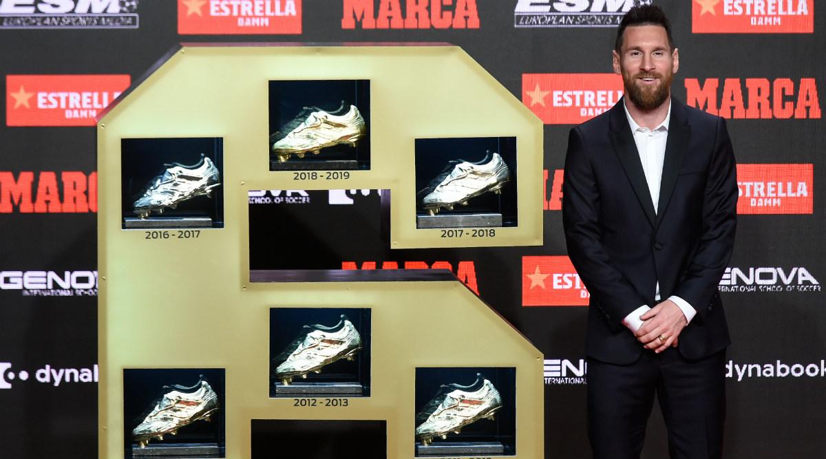 Lionel Messi Wins Sixth European Golden Shoe Award