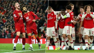 Liverpool vs Arsenal, Carabao Cup 2019–20 Free Live Streaming Online: How to Get EFL Cup Round of 16 Match, LIV vs ARS Live Telecast on TV & Football Score Updates in Indian Time?