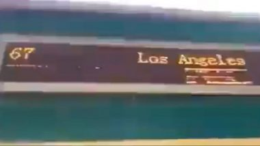 Pakistan Govt Gets Trolled as Train at Sukkur's Rohri Station Flashes 'Los Angeles' as Destination; Railway Minister Sheikh Rashid Responds