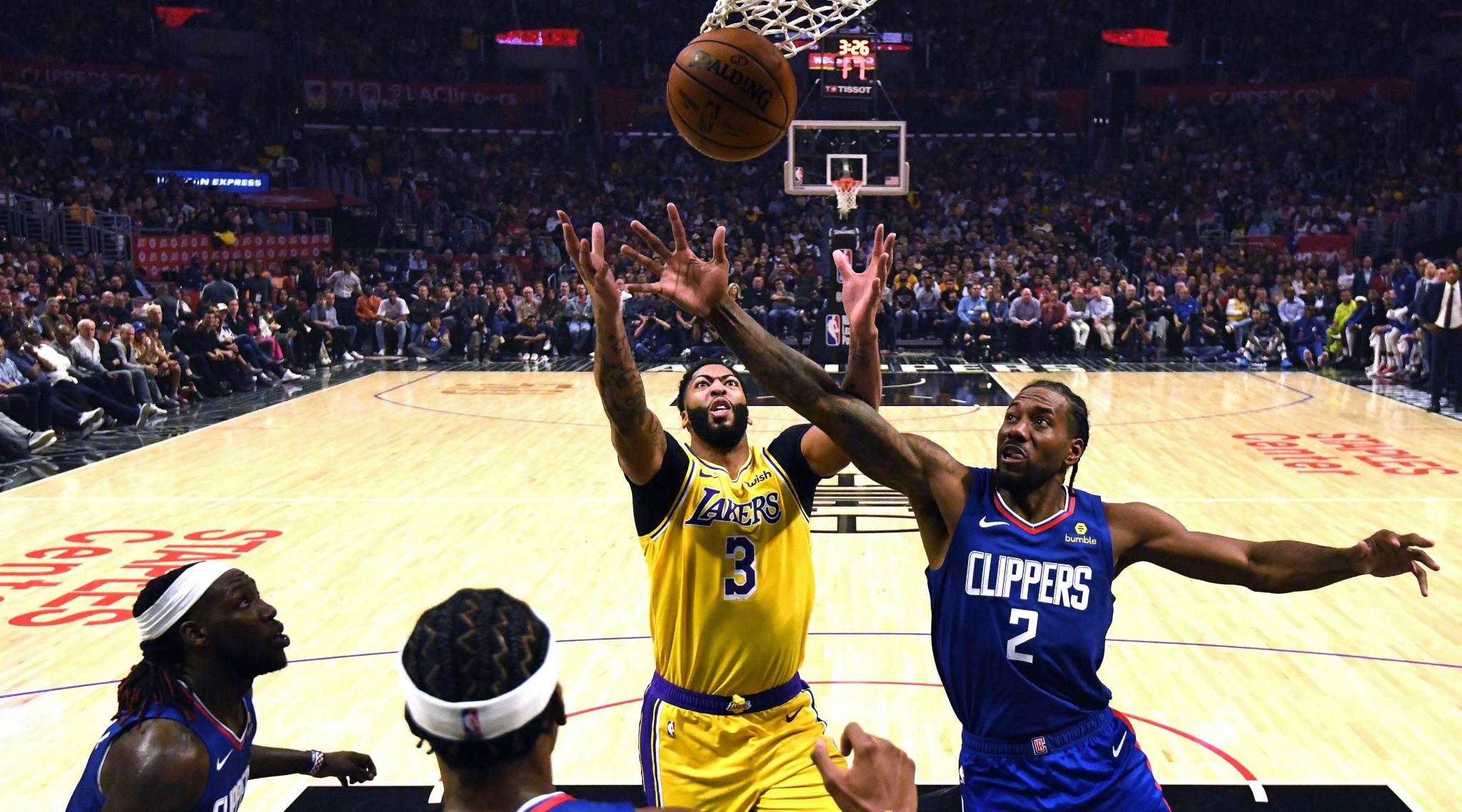NBA: Kawhi Leonard Shines as Los Angeles Clippers Script ...Lakers Vs Clippers